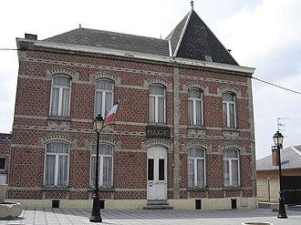 Ligny-en-Cambrésis - Image: Ligny en cambresis mairie