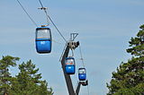 Linbana kolmården cable car.jpg