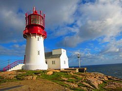 Lindesnes Lighthouse in September 2011