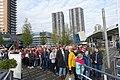 Line before boarding @ Harbour Tour @ Spido @ Rotterdam (30566410465).jpg