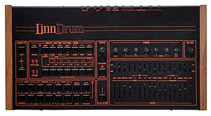 LinnDrum - LinnDrum digital drum machine