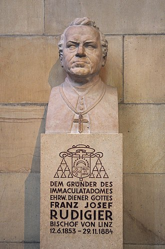 Franz-Josef Rudigier - Bust.