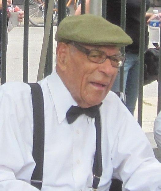 Lionel Ferbos 2012 before SatchmoFest Set