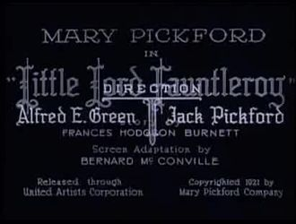 Файл:Little Lord Fauntleroy (1921).webm