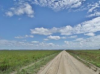 Santos Luzardo National Park - Image: Llanos y cielo de Apure