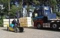 Loading up at a sawmill near Lilliesleaf - geograph.org.uk - 238937.jpg