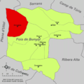 Localització de Setaigües respecte de la Foia de Bunyol.png