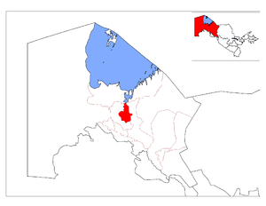 Location of Chimboy District in Qoraqalpog'iston.png