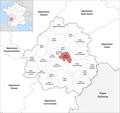 Locator map of Kanton Isle-Manoire 2019.png