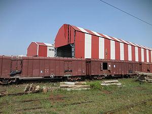 Royapuram railway station - Loco shed at the Royapuram railway station