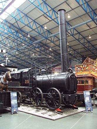 Foster, Rastrick and Company - Preserved Foster, Rastrick and Company steam locomotive ''Agenoria'' at the National Railway Museum, York