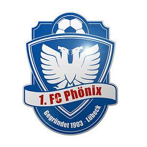 1. FC Phönix Lübeck - Image: Logo Gesamtverein 3D finish 2