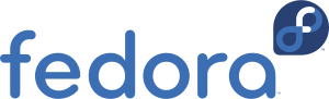 The official logo of the Linux distribution Fedora