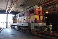 Lokomotivní depo Praha-Vršovice, lokomotiva řady 742 (2).jpg