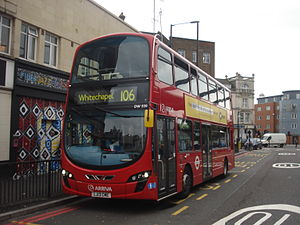 London bus 106 Whitechapel.jpg