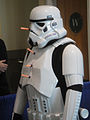 Long Beach Comic Expo 2012 - Stormtrooper takes some hits (7186645662).jpg