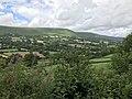 Longtown Castle - view from motte I.jpg