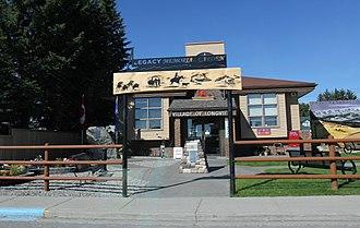 Longview, Alberta - Image: Longview Alberta Post Office and Village hall