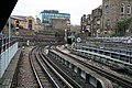 Looking East along the District Line from Whitechapel - geograph.org.uk - 622840.jpg