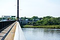 Looking NW along Sousa Bridge at former I-695 underpass - Washington DC.jpg