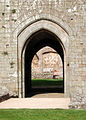 Looking through South Gate to the Fountain Court, Raglan Castle - geograph.org.uk - 1531733.jpg