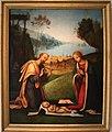 Lorenzo Costa, Adorazione del Bambino con i Magi in lontananza, 1503-1506.jpg