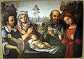 Lorenzo costa, adorazione del bambino, 1505 ca., da fondaz. carisbo, bologna.JPG