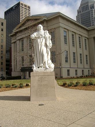 Louisville Metro Hall - Statue of King Louis XVI