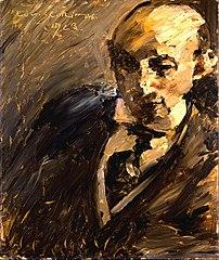 Portrait of Alfred Kuhn