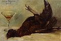 Lovis Corinth Stillleben mit Fasan und Weinglas 1908.jpg