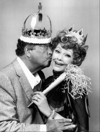"Jackie Gleason - With Lucille Ball in a TV special ""Tea for Two"" (1975)"