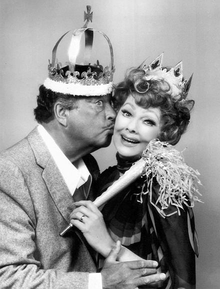 "Gleason and Lucille Ball in a TV special ""Tea for Two"" (1975)"