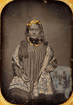William Luther Moehonua - His second wife Lucy Muolo Moehonua