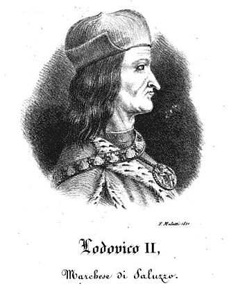 Monte Viso Tunnel - Ludovico II Del Vasto, Marquis of Saluzzo, commissioner of the work