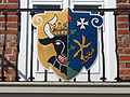Ludwigslust Wappen am Rathaus.JPG
