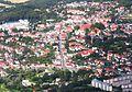 Luftbild Bergen auf Rügen Zentrum Dammstr Marktstr Kirche St Marien - Foto Wolfgang Pehlemann Steinberg Ostsee DSCN5769.jpg