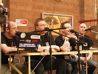 LugRadio - Image: Lug Radio recording at LRL2007