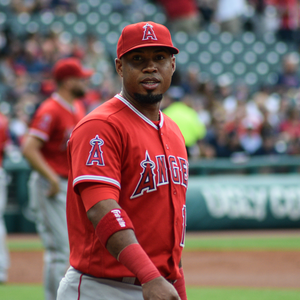 Luis Valbuena - Valbuena with the Los Angeles Angels in 2017