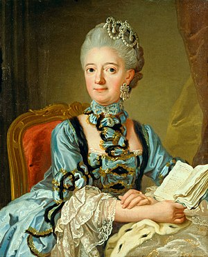 Louisa Ulrika of Prussia - Louisa Ulrika of Prussia by Lorens Pasch the Younger.