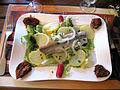 Lumières la bouche des goûts salade pommes de terre hareng.JPG