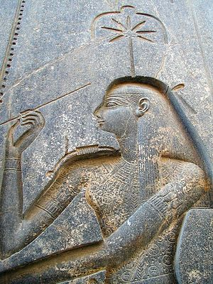 Seshat - Image: Luxor temple 16