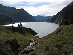 Image illustrative de l'article Lac de Luzzone