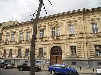 Lviv National Art Gallery - Building of the museum, April 2011