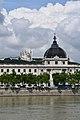 Lyon, an der Rhone, hinten Notre-Dame de Fourvière (19.) (41794493705).jpg