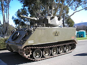 Variants of the M113 armored personnel carrier - Image: M113 FSV