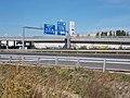 M1 motorway exit 16, 2017 Törökbálint.jpg