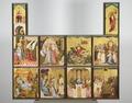 MCC-42339 Middelrijns altaar, annunciatie met afzonderlijk bovenstuk waarop God de Vader en vier engelen (2).tif