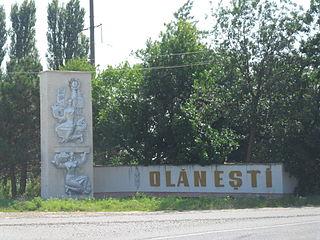 Olănești Village in Moldova