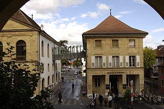 museum in Yverdon-les-Bains (Switzerland)