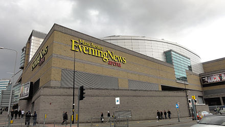 The arena during sponsorship by Manchester Evening News MEN Arena, Manchester.JPG